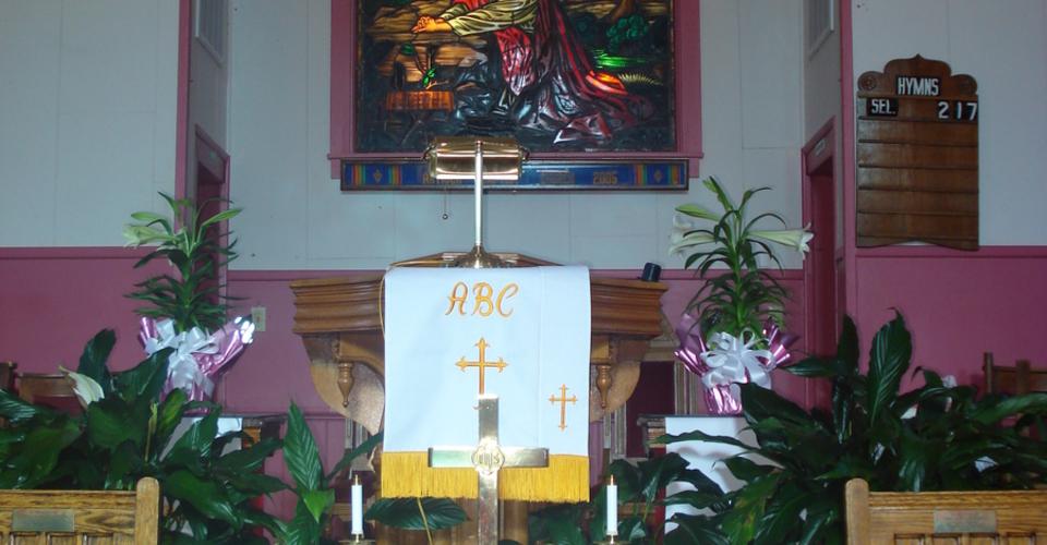 "Antioch Baptist Church, Culpeper   ""The Church Where Christ is Alive"""